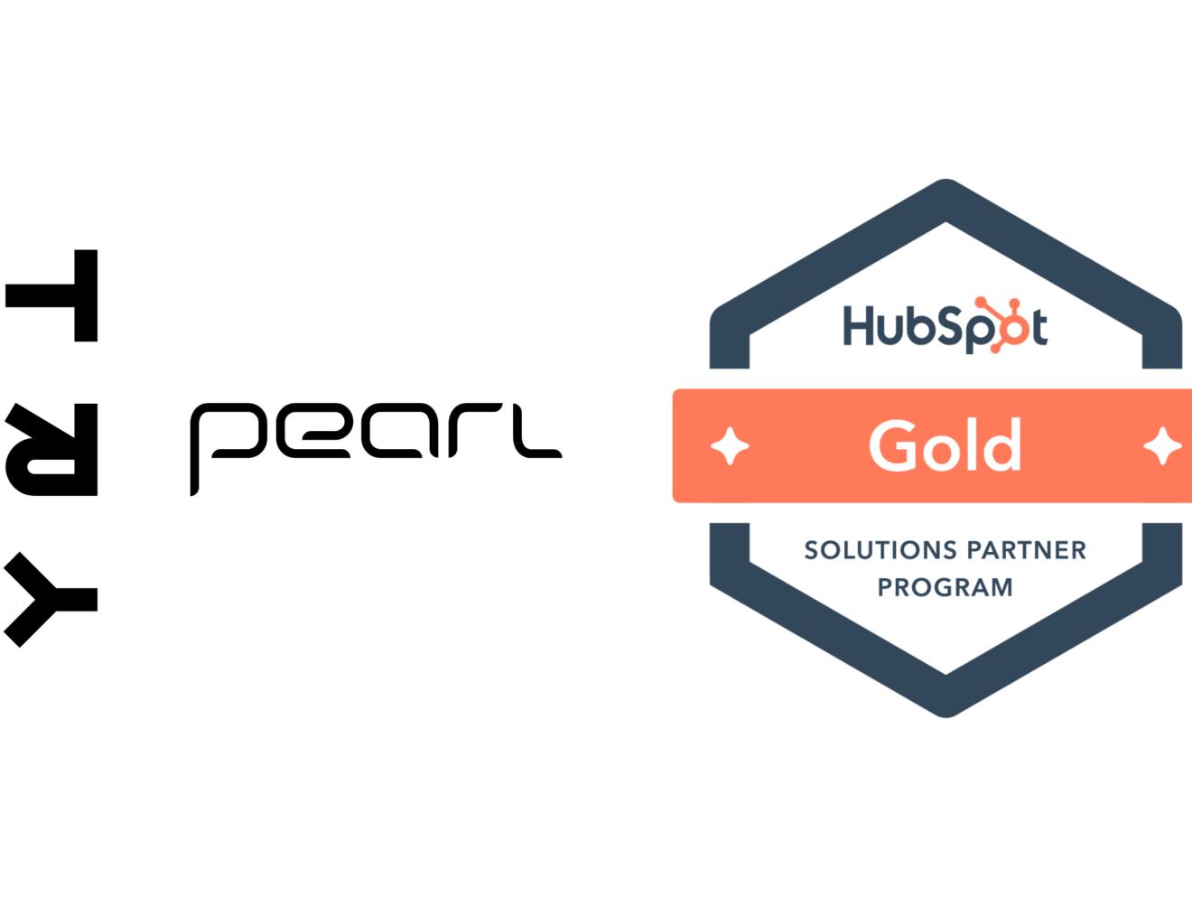 TRY Pearl har i løpet av kort tid blitt HubSpot Gold Partner